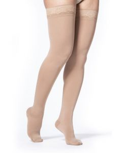 Sigvaris Soft Opaque - 20-30 mmHg Thigh High Compression Stockings 842N